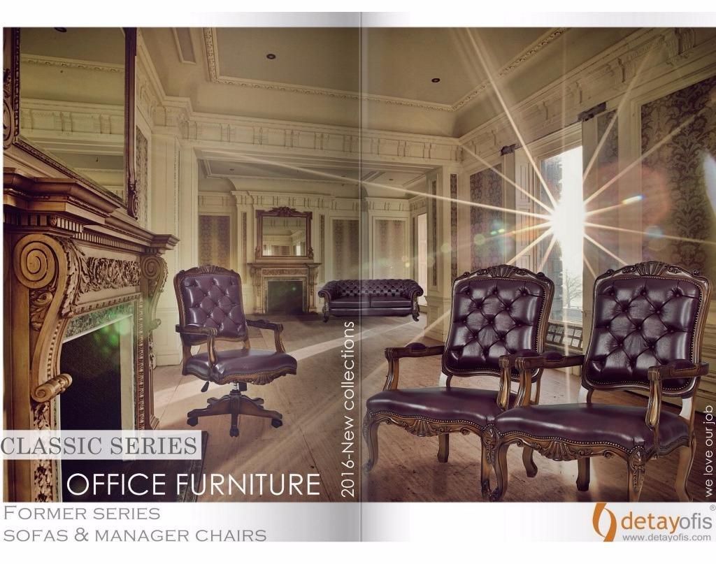 Former Klasik Ofis Kanepe ve Koltukları:2016 new collections...