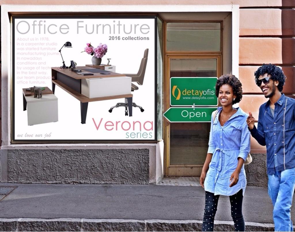 Verona,ofis yönetici masa takımı.