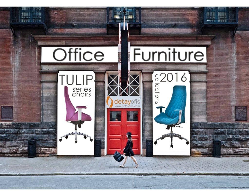 Tulip series chairs.