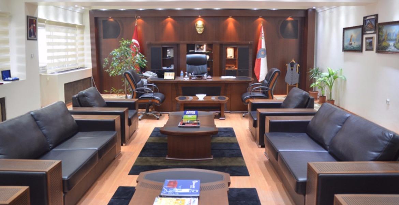 Ardahan il emniyet müd.2012- Ofis Mobilyaları Yapımı