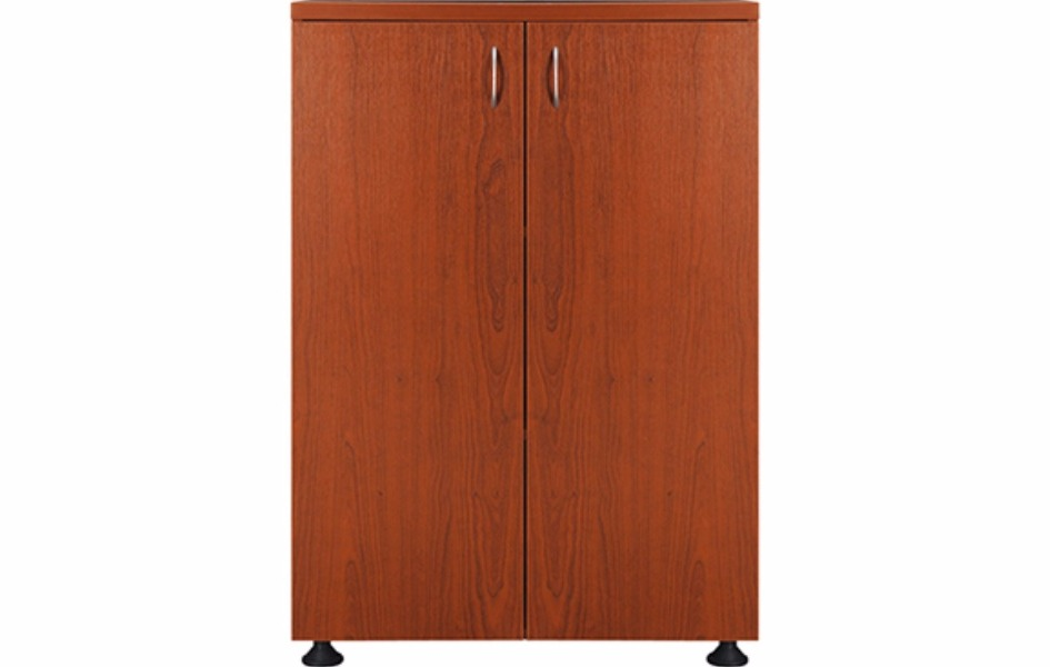 Высокий 118 см шкаф с полными дверями
