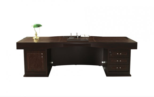 Polished Wooden Executive Office Furniture