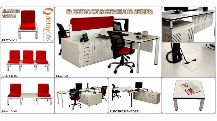 Electro workstation serisi  ile ofisler de çalışmak artık daha zevkli…