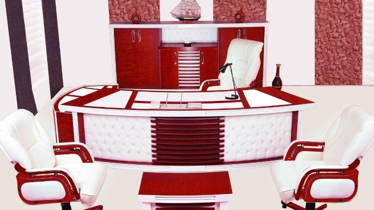 Klasik Ofis Mobilyası Olarak Bakarsanız: Klasik, Modern Ofis Mobilyası Olarak Bakarsanız: Modern.. İşte Öyle Birsey KİNG VİP MAKAM TAKIMI!