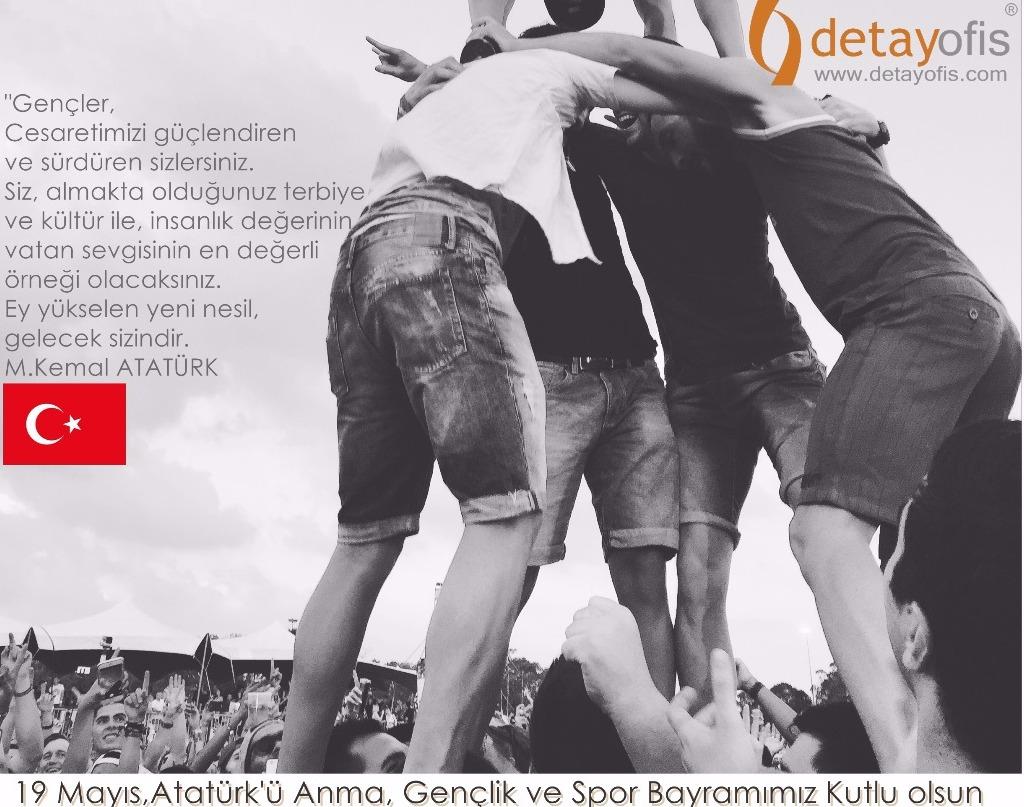 19 mayıs Atatürkü anma,Gençlik Ve Spor bayramımız kutlu olsun...