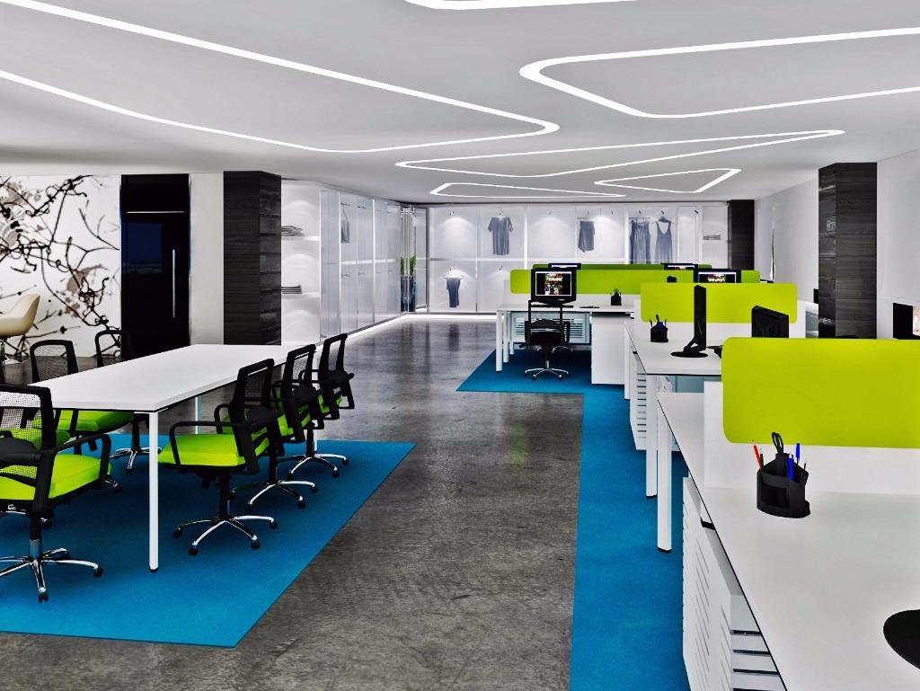 Akıntek tekstil / florya açık ofisler