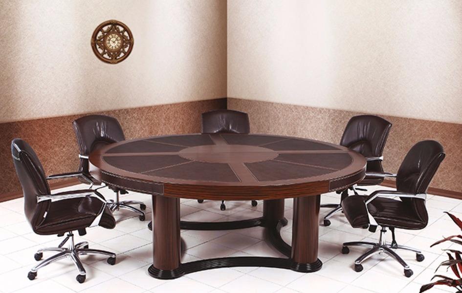 Pirus Round  Toplantı Masası