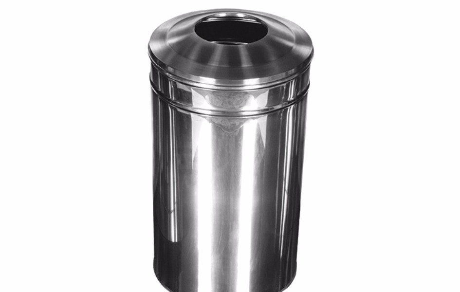 Stainless waste trash
